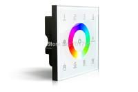DX8;4 Zones control RF 2.4G+DMX512 RGBW touch panel;AC100~240V input;RF 2.4G+DMX512 Output signal