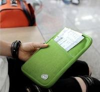 high quality cover for passport  nylon passport wallet wholesale holder