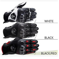 Hot new  automobile race motorcycle gloves carbon fiber genuine leather off-road wear-resistant outdoor breathable