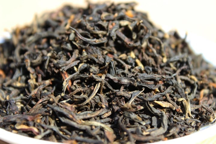 On sale Dian hong tea large congou black tea premium black tea red 250g maofeng THE