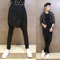 2014 male casual pants costume harem pants baggies k38 p85