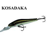 Kosadaka Series Fishing Lure Hard Bait Smirnoff Long Spatteringly Lure Set Fresh Water Fishing Tackle Free Shipping