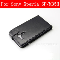 Leather case Turn up and down case for Sony Xperia SP case Sony Xperia SP cover M35h case cover