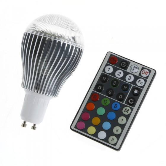 ACOSUN RGB LED Light Bulb 9W GU10 Energy Saving Lamp(China (Mainland))