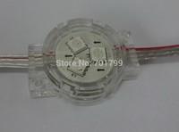 20pcs 30mm diameter DC12 WS2811 pixel with transparent cover;3pcs 5050 led inside;0.72W