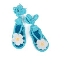 2014 New Baby Boy Girl Crib Shoes Crochet Handmade First Walker Shoes Infant Newborn Footwear(3 pairs/lot)