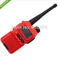 Baofeng red UV-3R+ PLUS 136-174/400-470MHz 2M/70CM Dual Band Display 2 way Radio