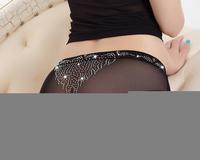 Hot Underwear 2014 new Ms. Sexy transparent diamond pants Lady Panties Lace Underwear 5pcs/lots SD0020# free shipping