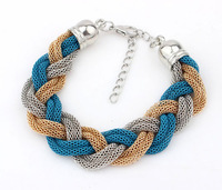 Fashion trendy chain mixed bracelets for women