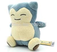 "High quality toy Pokemon Center Pikachu Soft Plush Doll Snorlax 6"" / 15cm"