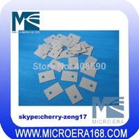 100pcs/lot TO-220 TO220 Heatsink mat silicone insulation mat  film silicon insulating silicone film