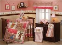 2014 Hot Sale baby bedding set Infant Bedding Sets Nursery Bedding sets 100% Cotton