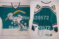 Kids Boys Youth -1995-96 Wild Wing Custom Anaheim Old Mighty Ducks Jerseys personalized - Cheap ICE Hockey Jersey Number & Nane