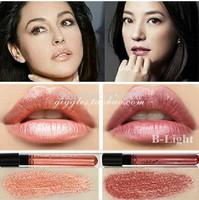 2014 New Waterproof Elegant Meatl shimmer Brown Color Lip gstick matte inferior smooth liquid velvet lipstick Long Lasting