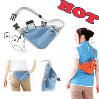Running Waist Free Shipping Pack Close-Fitting Portable Money Belt Waist Purse Cyclist Waist Bag Travel Bag Cyclist Storage Bag