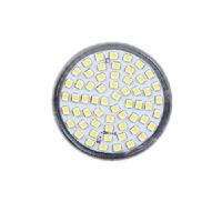 GU10 60LED Spot Light 220-240V 4W 3528 SMD 6000K White Bulb Lamp For Home Free Shipping