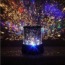 Night Romatic Gift Cosmos Star Sky Master Projector Starry Night Light Lamp R1(China (Mainland))