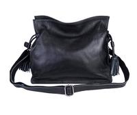 2014 women leather handbags Fashion women's cross-body shoulder bag tassel women handbag genuine leather female messenger bags