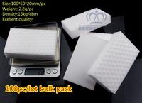 TOP FAITH ,100pc/lot,16KG/CBM,Mr. Clean  Magic Eraser Sponge Cleaner melamine sponge can be folded, double pressed, best quality