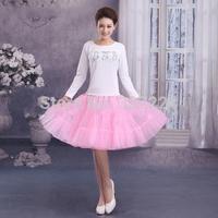 """26""""50s Retro Underskirt Swing Vintage Petticoat Fancy Net Skirt Rockabilly pink"""
