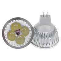 LED 4*3W MR16 Spotlight ,LED Cool White Bulb Light  Free Shipping