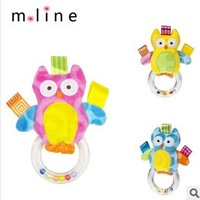 Baby Wrist Bell Rattle Cartoon Animals Educational Toys Baby Products