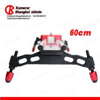 wholesale New Kamerar mini track camera slider/60CM the super rail DSLR RIG camera panning track slider