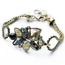 2014 Hot Sales Vintage Charm Bracelet Design Bracelet Charm Bracelet  Fashion Jewelry(China (Mainland))
