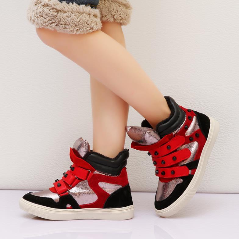 Korean Shoes High Tops Girls Shoes Boys Girl High-top