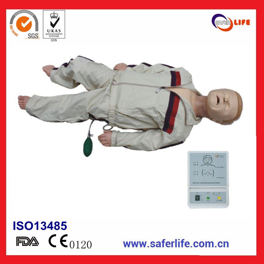 2014 Comprehensive emergency skills trainning medical advanced child CPR manikin(China (Mainland))