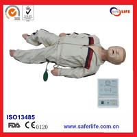 2014 Comprehensive emergency skills trainning medical advanced child CPR manikin