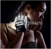 Burst flashing LED glove light-emitting LED garment laser gloves stage props Laser laser gloves