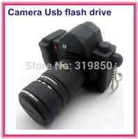 Retail real 2GB/4GB/8GB/16GB/32GB USB flash drive pen drive memory stick cartoon camera Free shipping