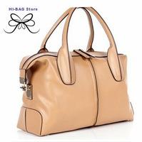 Explosion models sold autumn /winter 2014 high quality genuine leather women handbag high-grade real cow leather shoulder bag