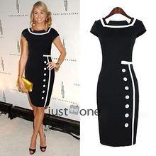 popular knee length formal dress