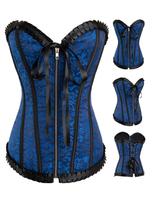 2014 Hot Sale Sexy Corselet Waist Training Corset Top Elegant Gothic Corset Women Body Shaper Corset Plus Size (S M L XL 2XL)