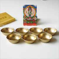 copper bowls,Water Offering Bowls,Disciples of the Buddha to supply water to the Buddha cup,Mini Decorated bowl