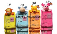 Free Shipping! 4 Colors Cotton Animal Height Ruler&Height Gage Baby Safe Plush Toys Boy Girl Gift 1pcs TY-14023