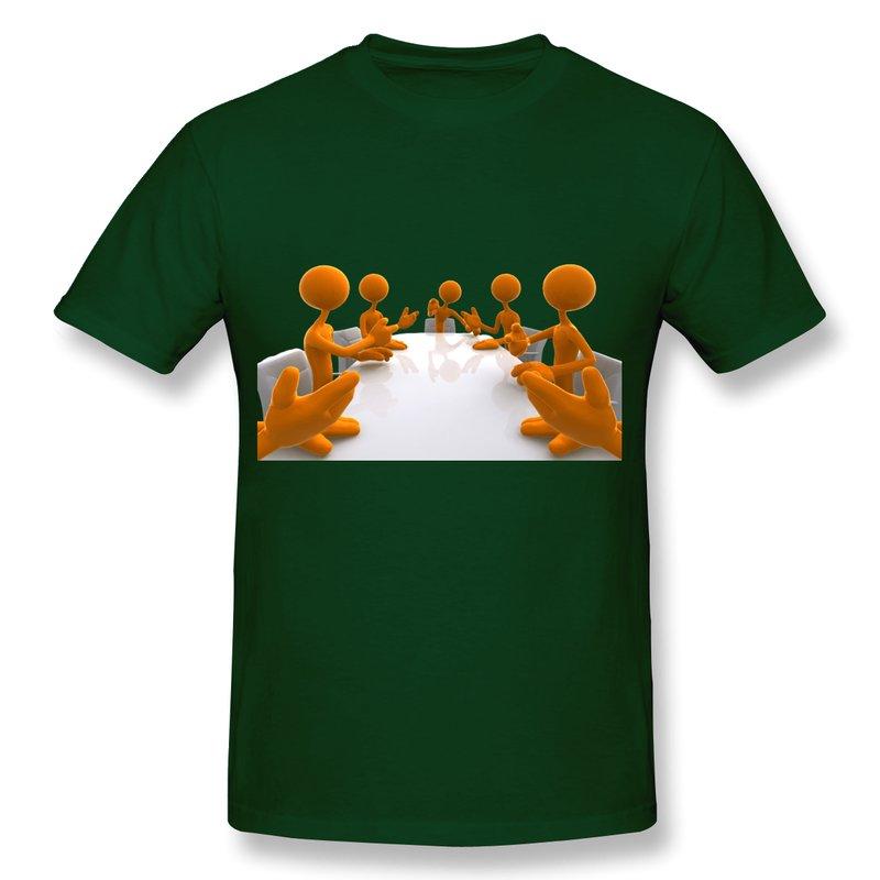 New 2014 Casual T-Shirt Men Website Design At Covis Marketing Make Own Round-Neck Men T Shirts(China (Mainland))