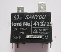 SANYOU relay SFK-112DM HF102F-12VDC G4A /20A250VAC free shipping