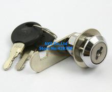 5 Cabinet Showcase Desk Drawer Tool Box Cylinder Cam Lock with Keys 18x20mm