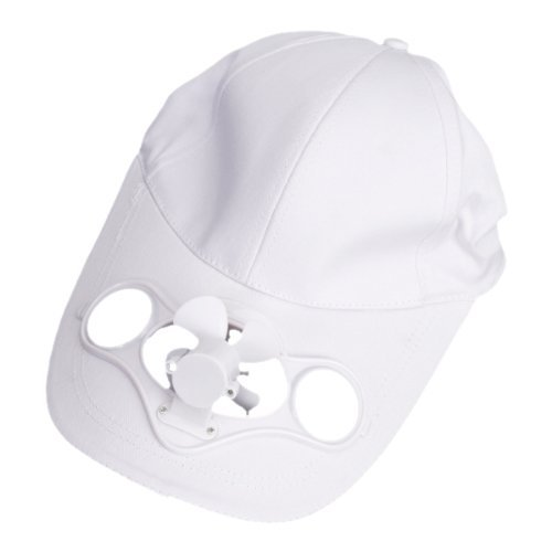 Solar Powered Air Fan Cooled Baseball Hat w/ Solar Panel on the Cap Front Eco Friendly Camping Traveling(China (Mainland))