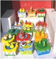 cartoon music box dance music box birthday gift hand painted Valentine's small commodity Home Furnishing decorations