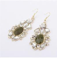 YXSP1648      2014 new fashion  Elegant Crystal    earring for women