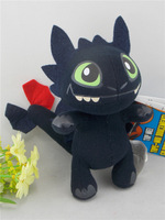 "Dreamworks Movie HOW TO TRAIN YOUR DRAGON Toothless Night Fury 6"" Plush Toys Doll"