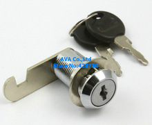 5 Cabinet Showcase Desk Drawer Tool Box Cylinder Cam Lock with Keys 18x30mm