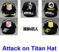 10pcs Cartoon Anime Cosplay Props Attack on Titan Shingeki no Kyojin adjustable size training Corp Rose/Horse/Sword Cap Hat