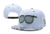 Frightened expression! Free shipping Adjustable men women cap snapback hat ,Shades Snapback White Grey