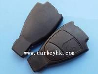 Top quality BEN 2 buttons smart key case no logo key shell
