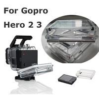 Back Door for LCD Bacpac Screen Gopro Hero 2 3 Original Waterproof Housing Case Backdoor  Hard Housing Case Free shipping